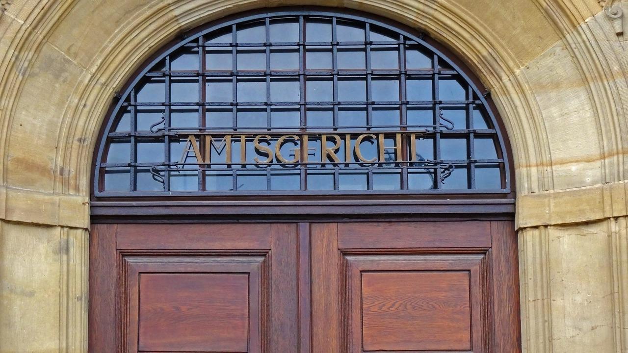 Amtsgericht (Jan Mallander, pixabay.com)